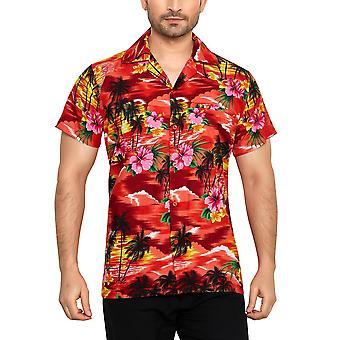 Club cubana miesten & #039; s säännöllinen sovi klassinen lyhythihainen rento paita ccc9