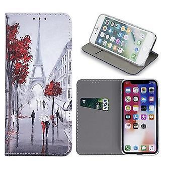 Samsung Galaxy A40 - Smart Trendy Mobilplånbok - Lovers in Paris