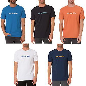 Animal Mens Classico Logo Casual Cotton Crew Collo Corto Manica T-Shirt Top