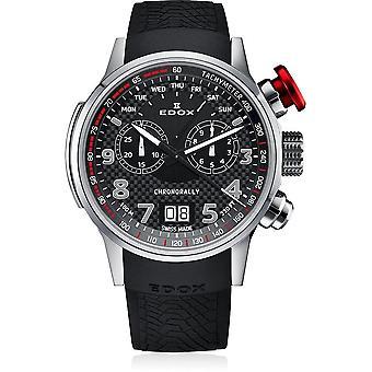 Edox - Wristwatch - Men - Chronorally - chronograph - 38001 TIN NRO3