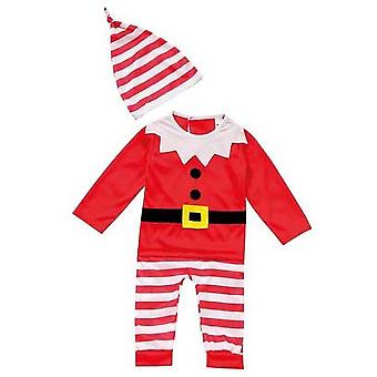 Kerst Shop baby's Elf Outfit