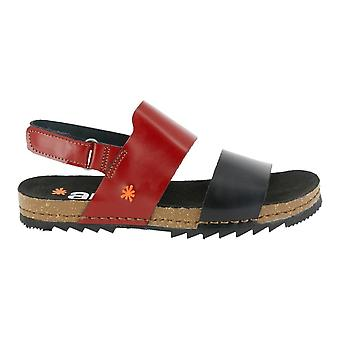 The Art Company 1257 Creta Sandal Burdeos/Noir