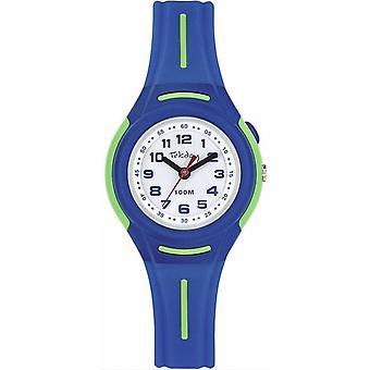 Katso Tekday 654676 - Katso Bo taso Piidioksidi vihreä rannekoru silikoni sininen miehet / naiset