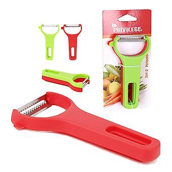 Peeler Privilege Red Green (2 Uds)