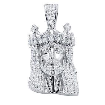925 الجنيه الاسترليني الفضة مايكرو قلادة بافي - قيصر يسوع