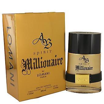 Spirit Millionaire Eau De Toilette Spray By Lomani 6.7 oz Eau De Toilette Spray