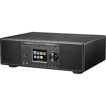 Albrecht DR 890 Internet skrivbord radio DAB +, FM AUX, Bluetooth, CD, DLNA, Internet radio, USB, Wi-Fi Multi-room Svart