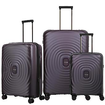 TITAN Looping Case Set 3 piezas S-M-L, Púrpura