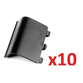 10x Black Battery Wireless Controller Back Cover Pack for Xbox One