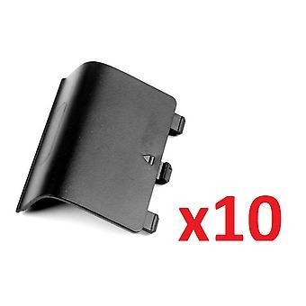 10x بطارية سوداء وحدة تحكم لاسلكية الغطاء الخلفي حزمة لأجهزة إكس بوكس واحد