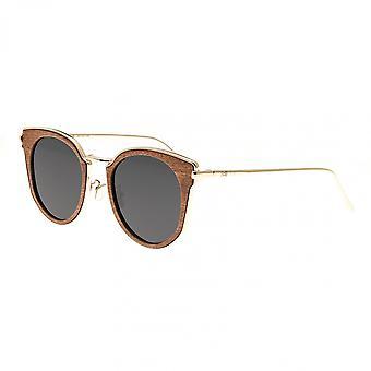 Earth Wood Karekare Polarized Sunglasses - Red Rosewood/Black