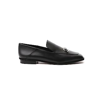 Salvatore Ferragamo 01r420733041 Dames's Black Leather Loafers