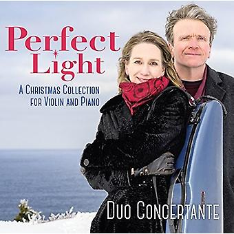 Duo Concertante - Perfect Light: A Christmas Collection for Violin [CD] USA import