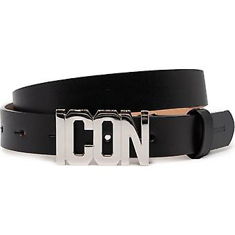 Dsquared2 Icon Leather Hip Belt