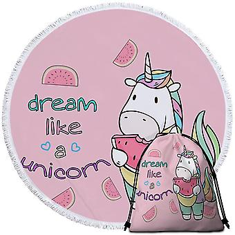Dream Like a Unicorn Beach Towel