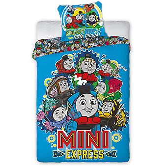 Thomas and Friends Minis Single Dekbed Cover Set - Europese maat