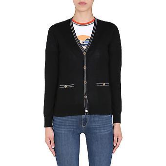 Tory Burch 57330010 Women's Black Wool Cardigan
