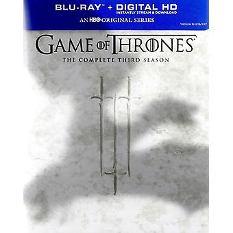 Game of Thrones: Complete Third Season [Blu-ray] USA import