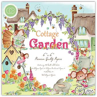 Craft Consortium Cottage Garden 6x6 Inch Paper Pad