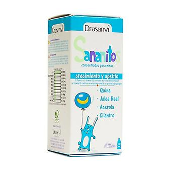 Sananitos Growth and Appetite 150 ml