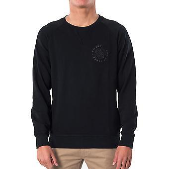Rip Curl Zoon van Cobra Sweatshirt in Washed Black