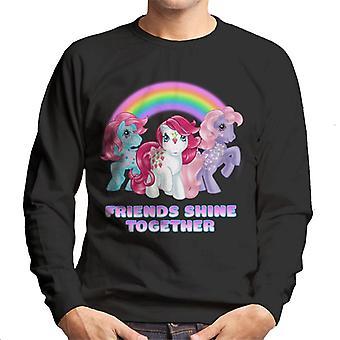 My Little Pony Friends Shine Together Men's Sweatshirt