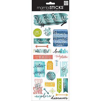 Me & amp; Mijn grote ideeën speciale stickers-reizen, 24/pkg