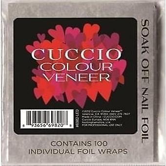Cuccio Couleur Placage Tremper hors feuille d'ongle (100)