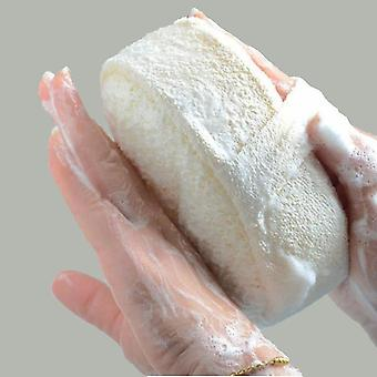 Natural Loofah Sponge Bath Ball Shower - Rub Bath Shower Wash Body Pot Sponge