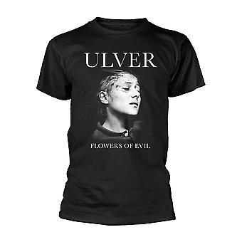 Ulver Blumen des Bösen offiziellen T-Shirt Herren Unisex