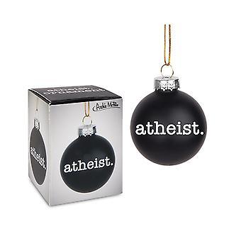 Archie McPhee Atheist Ornament