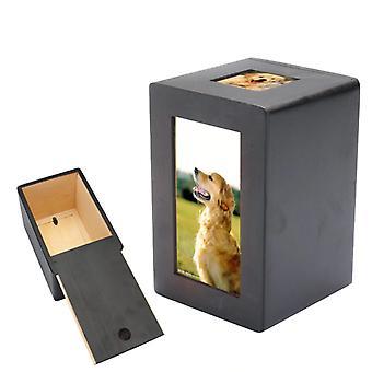 جرة الحيوانات الأليفة اللوح الليفي مع إطار الصورة - سلمية صورة تذكارية الحفاظ على ساكي الحيوانات الأليفة