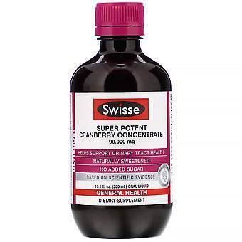 Swisse, Ultiboost, Super Potent Cranberry Concentrate, 90,000 mg, 10.1 fl oz (30