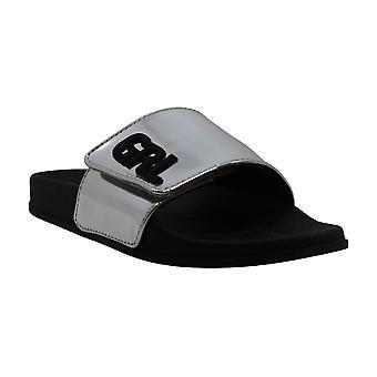 Material Girl Womens Piah Open Toe Casual Slide Sandals