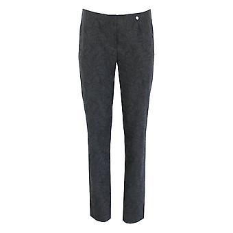 ROBELL Robell Black Trouser Marie 51412 54401 90