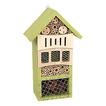 Legler Small Foot Green Wooden Insect Hotel for Wildlife Garden Unisex (12051)