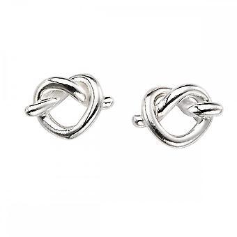 Beginnings Sterling Silver E5399 Pretzel Stud Earrings