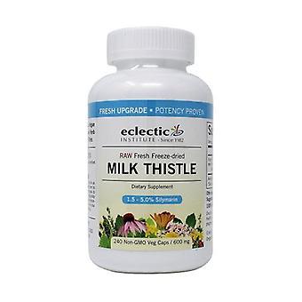 Eclectic Institute Inc Milk Thistle, 600 Mg, 240 Korkkia