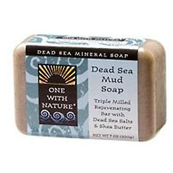 One with Nature Almond Bar Soap, DEAD SEA MUD, 7 OZ