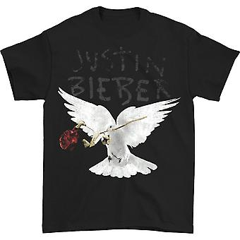Justin Bieber Dove With Dead Rose T-shirt