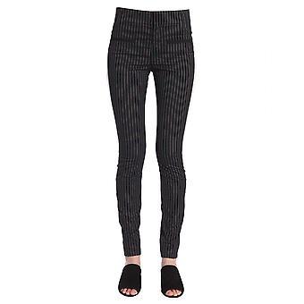 Haider Ackermann 1835408194099 Women's Black Cotton Pants