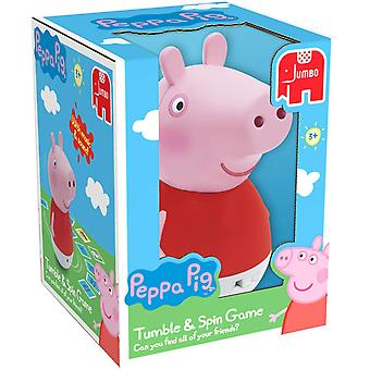 Peppa Pig Tumble and Spin Memory Game Jumbo Games
