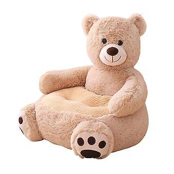 Μωρό καναπέ κινούμενα σχέδια ζώο αρκούδα κάθισμα puff δέρμα κάλυψη