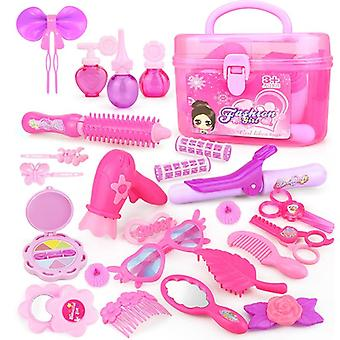 Princess Hairdressing And Cosmetic-pretend Play Set