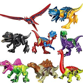 Jurassic Dinoszauruszok Park- Baby Dinosaur World Crystal Raptor Pterosaurusok,