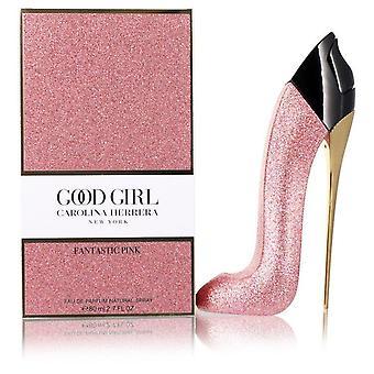 Buena chica fantástica rosa eau de parfum spray por Carolina herrera 553738 80 ml