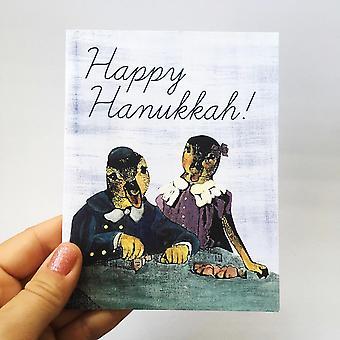 بطاقة البط هانوكا