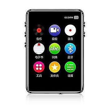 IQQ X62 16GB Bez stratový hudobný MP3 prehrávač s podporou reproduktorov FM E-Book Alarm