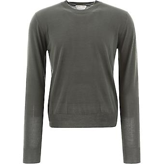 Bottega Veneta 648384v09w02275 Men's Grey Wool Sweater