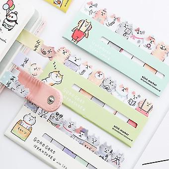 Kawaii Baby Cat Memo Pad, Cute Kitties Sticker